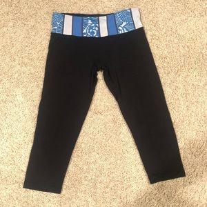 REVERSIBLE lululemon cropped pants